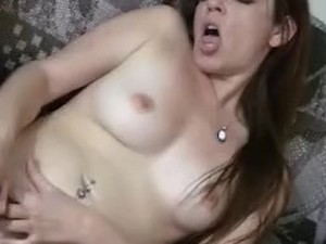 Titless young redhead