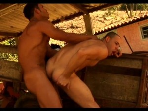Farm hands suking Cock