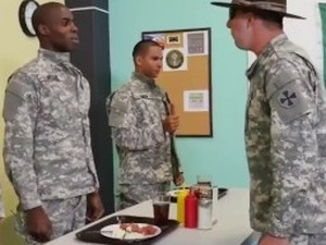 gay military group sex