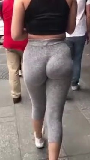 Bbw big brown juicy ass (wedgie)