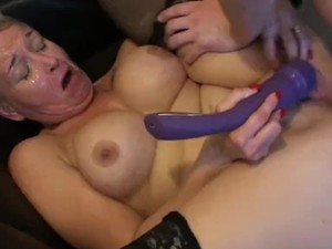 Brunette wife big black cock
