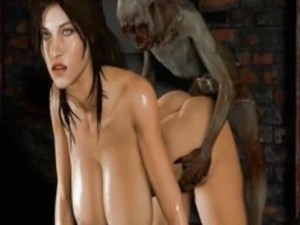 Lara croft blowjob videos